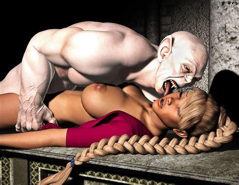 Horny Blonde Having Hot Alien Monster Sex Monstersexcartoons