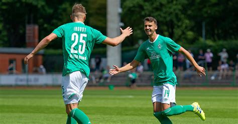 From the section european football Werder U23 - LSK Hansa (HL)   Werder.TV