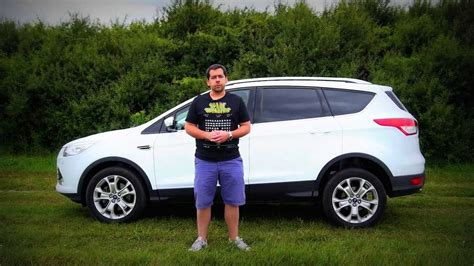 ford kuga test eng ford kuga test drive and review