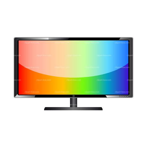 tv clipart tv clipart flat screen tv pencil and in color tv clipart