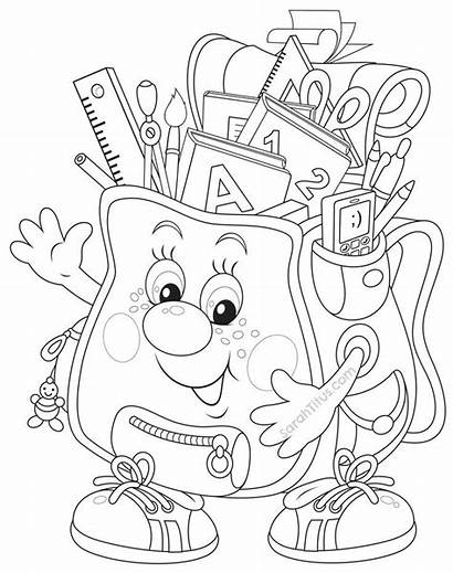 Coloring Pages Middle Printable Students Sunday Kin