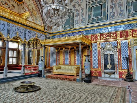 The Topkapi Palace and its Harem; the sultan's heaven on