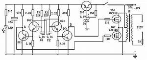 Simple Sinewave Inverter Circuits