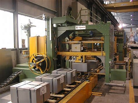 strapping machine  metal sheets itipack
