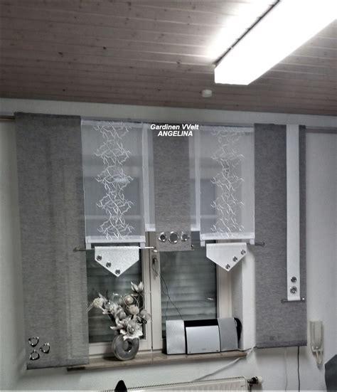 Moderne Gardinen Für Küche by Gardinen Moderne Schiebegardinen Ein
