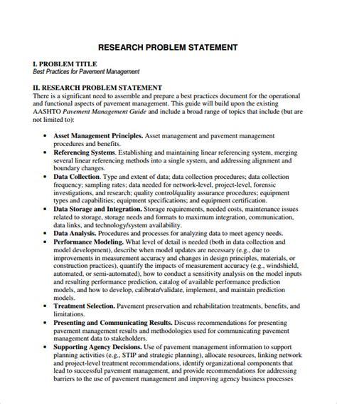 Problem Statement Template Problem Statement Template Www Pixshark Images