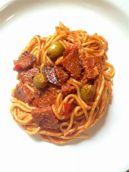 Dominican Salami Recipes Pasta Recipe Spaghettis Comida
