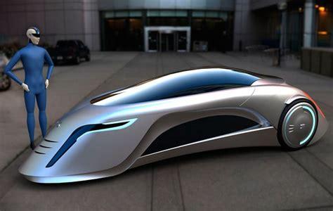 Carro do futuro possui três rodas e um design totalmente ...