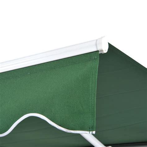 patio awning canopy retractable deck door outdoor sun shade shelter ebay