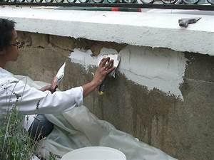 Enduit De Rebouchage Exterieur : r nover un mur ext rieur ab m galerie photos d 39 article ~ Dailycaller-alerts.com Idées de Décoration