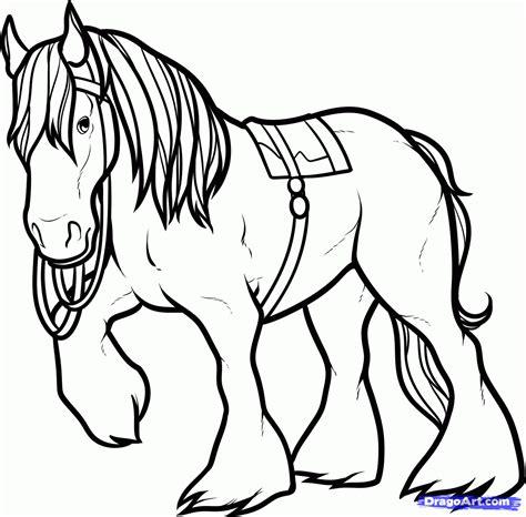 horse  brave coloring page az coloring pages