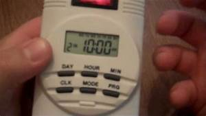 Coralife Power Center Day Night Timer Instructions