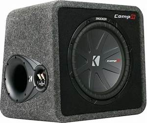 Kicker Car Speakers : kicker 40vcwr122 car 12 subwoofer enclosure sub woofer ~ Jslefanu.com Haus und Dekorationen