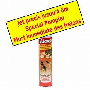 Bombe Insecticide Spéciale Pour Nids De Guêpes Et Frelons : bombe foudroyante anti frelons vulcano stop nuisibles com ~ Melissatoandfro.com Idées de Décoration