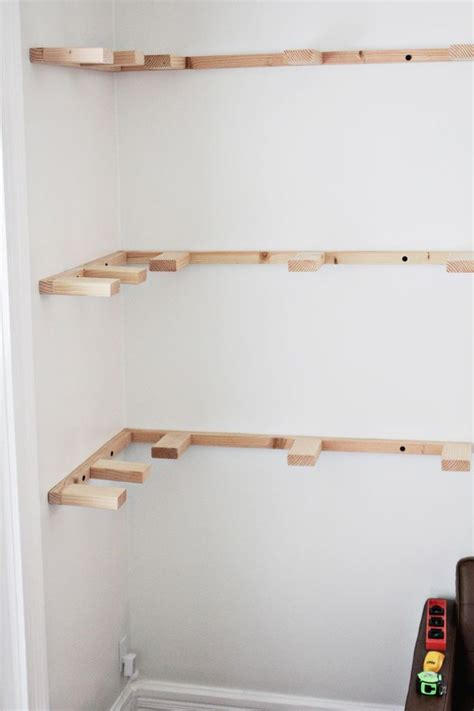 how to build a l building corner shelf woodworking projects plans