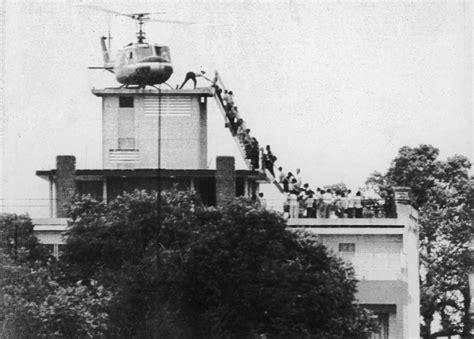 Image result for U.S. embassy in Vietnam was evacuated Saigon.