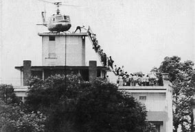 Image result for U.S. embassy in Vietnam was evacuated Saigon.