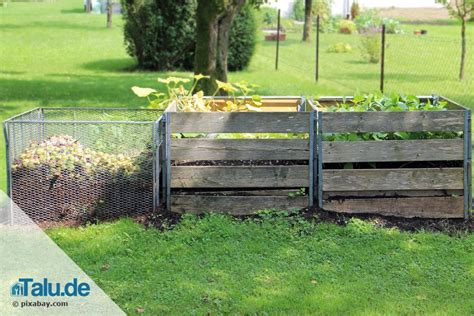 Komposthaufen Selber Bauen. Komposter Selber Bauen