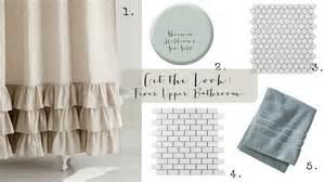 curtain ideas for bathrooms get the look fixer bathroom house of hargrove