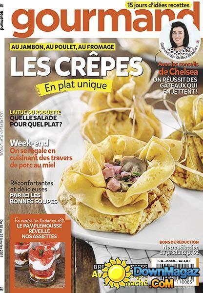 gourmand magazine cuisine gourmand 18 janvier 2017 no 363 pdf magazines magazines commumity