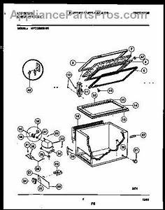 Parts For Frigidaire Mfc05m0bw0  Chest Freezer Parts