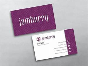 Jamberry business cards free shipping for Jamberry business card