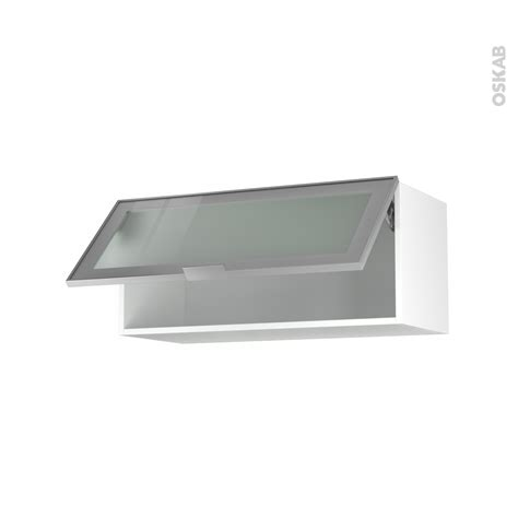 cuisine so cooc meuble haut cuisine vitré meuble de cuisine haut abattant