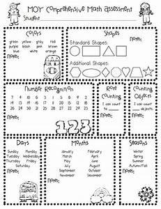 Homeschool Parent: Printable Kindergarten Assessments