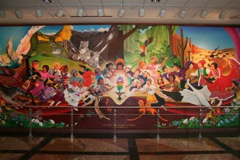 Denver International Airport Murals In Order by Denver Airport Mural Illustrates How Jesuits Will Bring