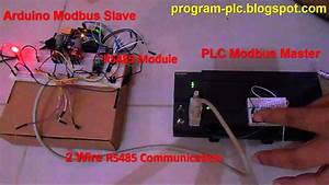 Rs485 Communication Between Plc Modbus Master And Arduino