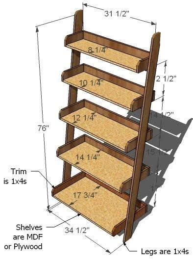 What Do I Need To Distress Furniture by 25 Best Ideas About Ladder Shelves On Pinterest Leaning