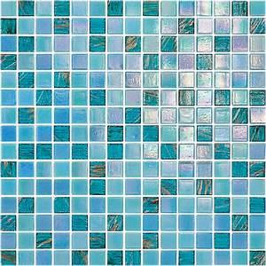 Mosaique Piscine Pas Cher : bleu verre iris piscine carrelage cuisine salle de bain ~ Premium-room.com Idées de Décoration