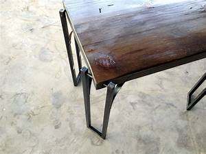 custom made reclaimed wood coffee table end table with With wood coffee table with iron legs