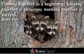 Coming Together Is A B...
