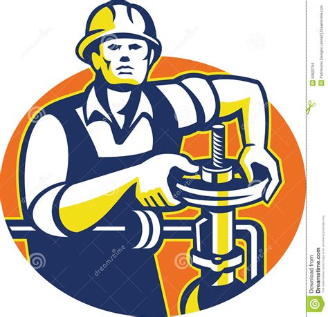 pipefitter cartoons illustrations vector stock images