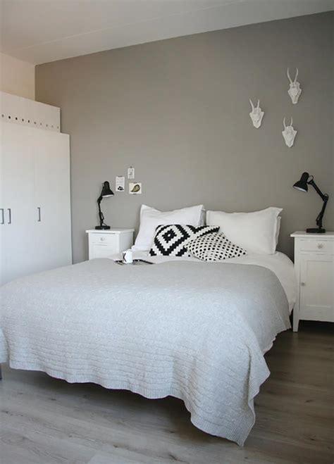 couleur mur chambre murs et ameublement chambre tout en gris tendance