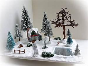 Village De Noel Miniature : miniature christmas village scene miniature christmas ~ Teatrodelosmanantiales.com Idées de Décoration
