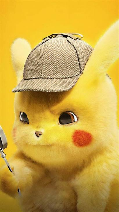 Pikachu Pokemon Detective Wallpapers Lucu Animals Disney