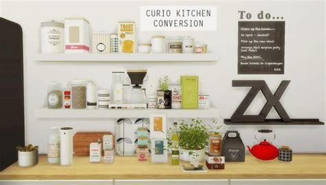 Curio Kitchen Conversion • Sims 4 Downloads