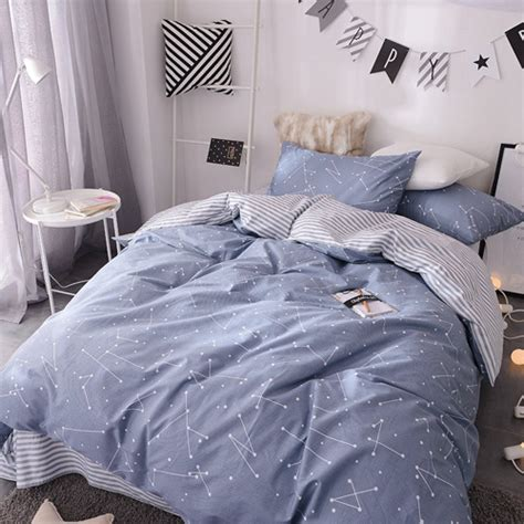 modern striped bedding set lux comfy bedding