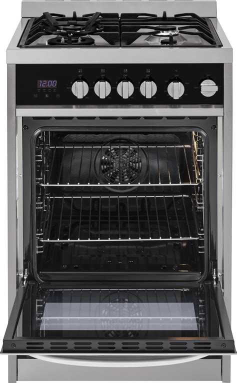 hcrags haier  gas range convection stainless steel