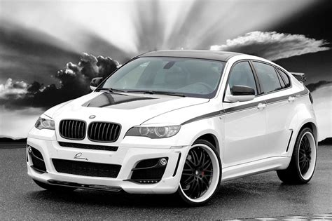 White Bmw X6 Modified