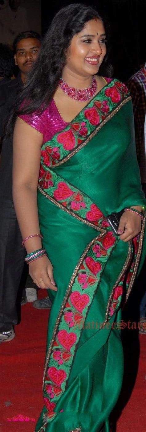 in saree teluguaunty serial saree actresses and telugu