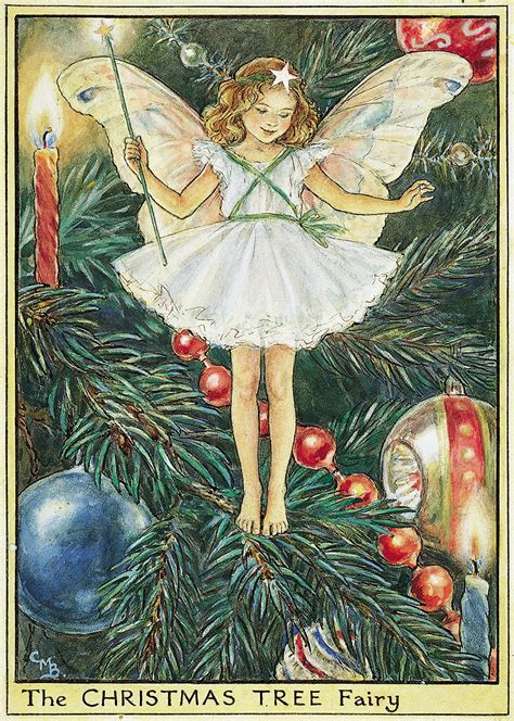 the christmas tree fairy flower fairies