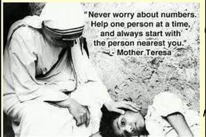 Mother Teresa Quotes On Serving Others. QuotesGram