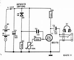 infrared headphone receiver circuit diagram With circuit receiver