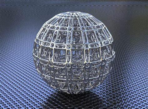 bro sphere structure   model  printable obj stl
