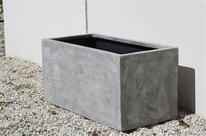 Pflanztröge Beton Rechteckig : pflanzk bel blumenk bel maxi 60 aus fiberglas beton design ~ Sanjose-hotels-ca.com Haus und Dekorationen