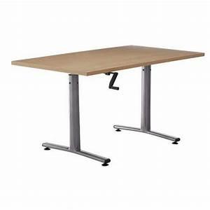 Table Basse Reglable Hauteur : table hauteur reglable manivelle ~ Carolinahurricanesstore.com Idées de Décoration