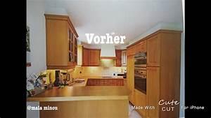 Küche Eiche Weiß : k che eiche rustikal wei streichen youtube ~ Orissabook.com Haus und Dekorationen